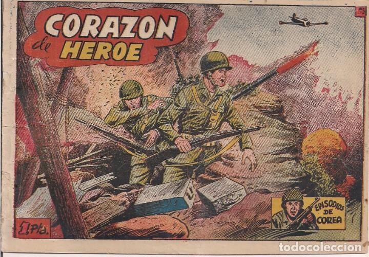 EPISODIOS DE COREA Nº 65 CORAZON DE HEROE (Tebeos y Comics - Ricart - Otros)
