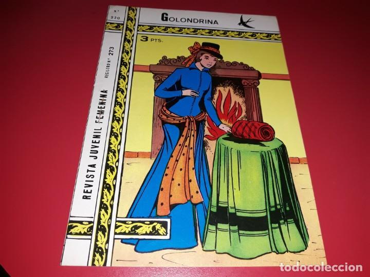 COLECCIÓN GOLONDRINA Nº 220 RICART (Tebeos y Comics - Ricart - Golondrina)