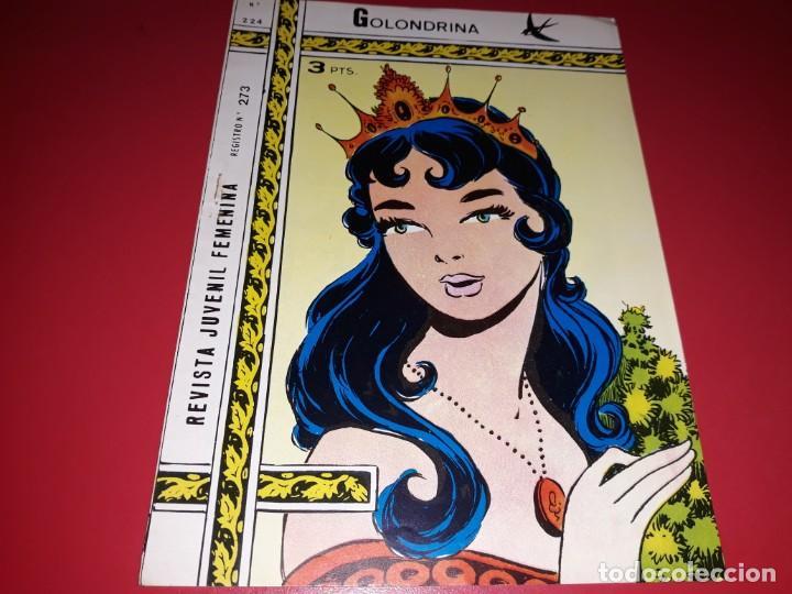 COLECCIÓN GOLONDRINA Nº 224 RICART (Tebeos y Comics - Ricart - Golondrina)