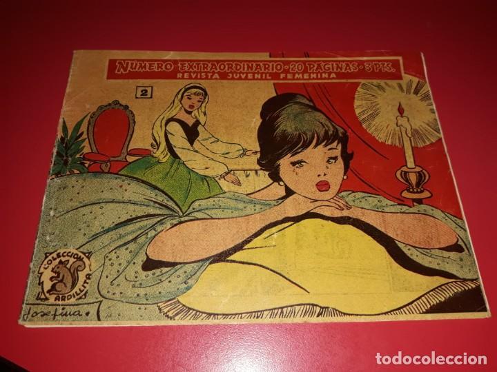COLECCIÓN ARDILLITA EXTRAORDINARIO Nº 2 RICART (Tebeos y Comics - Ricart - Otros)
