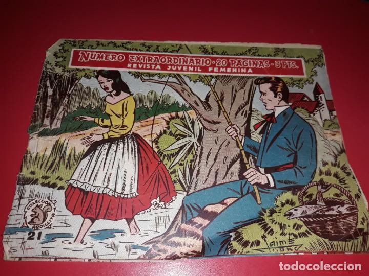 COLECCIÓN ARDILLITA EXTRAORDINARIO Nº 21 RICART (Tebeos y Comics - Ricart - Otros)