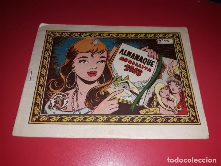 COLECCIÓN ARDILLITA ALMANAQUE 1958 RICART (Tebeos y Comics - Ricart - Otros)