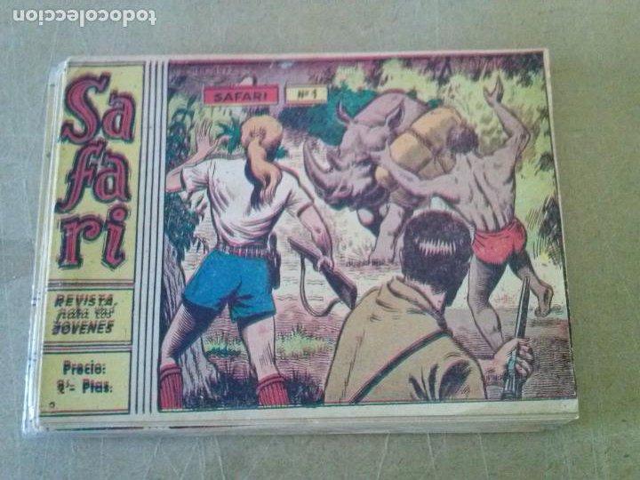 SAFARI ,RICART ,COMPLETA Y SUELTA ,ORIGINAL , NUEVA (Tebeos y Comics - Ricart - Safari)