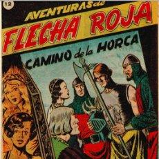 Tebeos: FLECHA ROJA Nº 12 - EXCLUSIVAS RICART - IMPECABLE. Lote 219423060