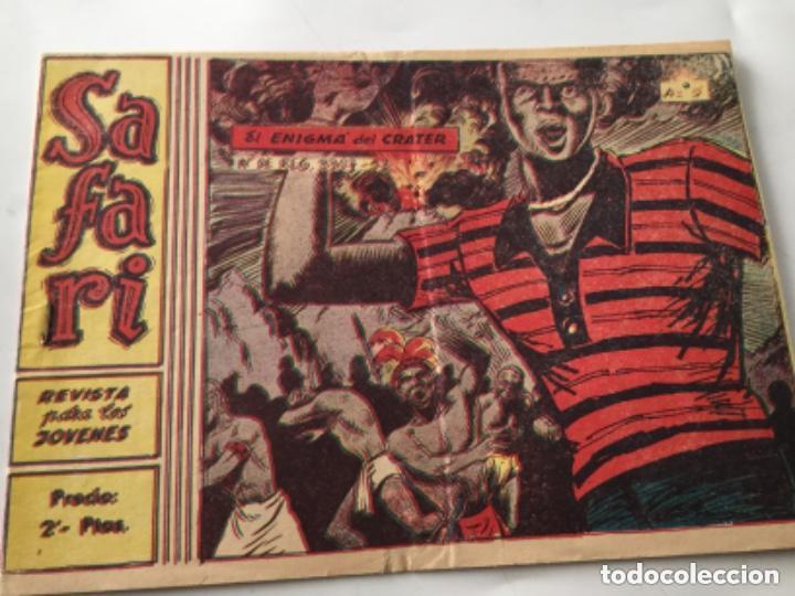 SAFARI- NU. 5 (Tebeos y Comics - Ricart - Safari)