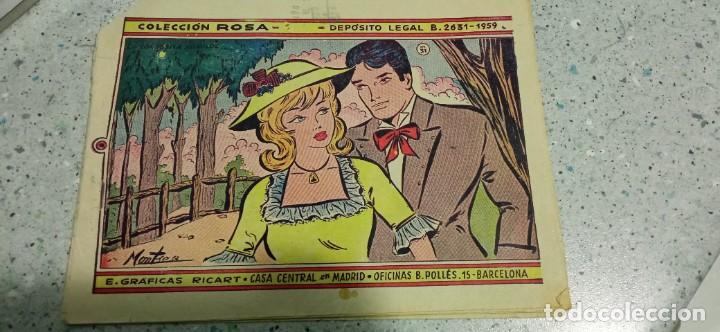 COMIC COLECCION ROSA 1959 E. GRAFICAS RICART (Tebeos y Comics - Ricart - Otros)