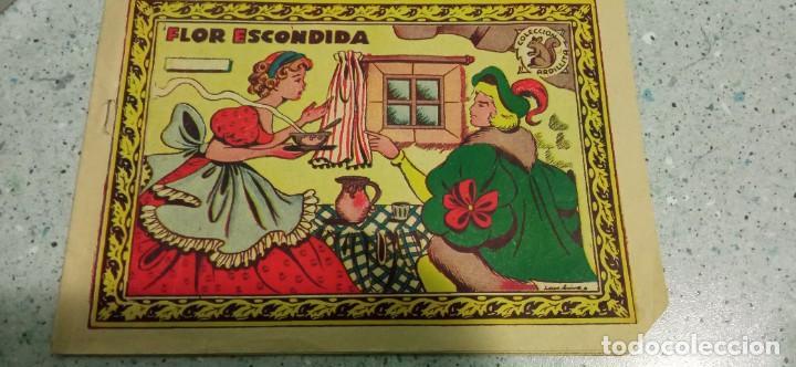 COMIC FLOR ESCONDIDA COLECCION ARDILLITA EXCLUSIVAS RICART (Tebeos y Comics - Ricart - Otros)