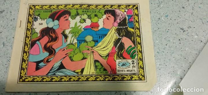 COMIC MARILUZ REVISTA JUVENIL COLECCION GOLONDRINA 1969 Nº 58 (Tebeos y Comics - Ricart - Golondrina)