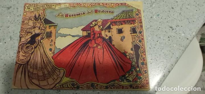 COMIC LA HERENCIA DEL RELOJERO CUENTOS PARA NIÑAS COLECCION GACELA AÑOS 60 (Tebeos y Comics - Ricart - Gacela)