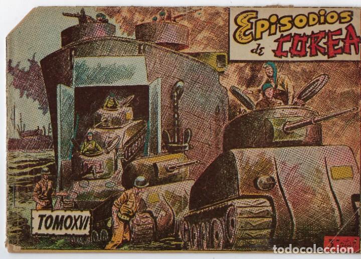 LOTE - EPISODIOS DE COREA - 3PTAS - N.º: X, XII Y XVI (10, 12 Y 16) AÑO 1955 ***EDITORIAL RICART*** (Tebeos y Comics - Ricart - Otros)