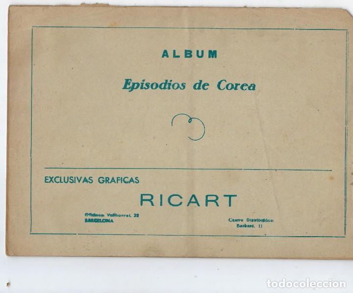 Tebeos: LOTE - EPISODIOS DE COREA - 3PTAS - N.º: X, XII Y XVI (10, 12 Y 16) AÑO 1955 ***EDITORIAL RICART*** - Foto 2 - 222010610