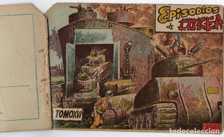 Tebeos: LOTE - EPISODIOS DE COREA - 3PTAS - N.º: X, XII Y XVI (10, 12 Y 16) AÑO 1955 ***EDITORIAL RICART*** - Foto 3 - 222010610