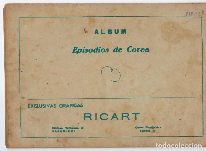Tebeos: LOTE - EPISODIOS DE COREA - 3PTAS - N.º: X, XII Y XVI (10, 12 Y 16) AÑO 1955 ***EDITORIAL RICART*** - Foto 5 - 222010610