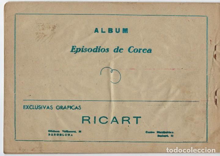 Tebeos: LOTE - EPISODIOS DE COREA - 3PTAS - N.º: X, XII Y XVI (10, 12 Y 16) AÑO 1955 ***EDITORIAL RICART*** - Foto 8 - 222010610