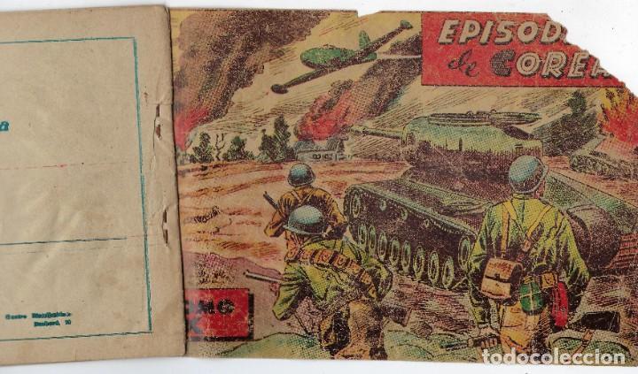 Tebeos: LOTE - EPISODIOS DE COREA - 3PTAS - N.º: X, XII Y XVI (10, 12 Y 16) AÑO 1955 ***EDITORIAL RICART*** - Foto 9 - 222010610