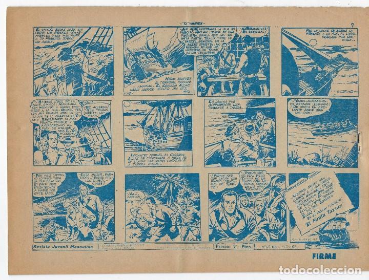 Tebeos: LOTE - EL CORSARIO AUDAZ ¡12 NÚMEROS! 1955 -1956 *** EDITORIAL RICART *** LEER DESCRIPCIÓN - Foto 2 - 222012832
