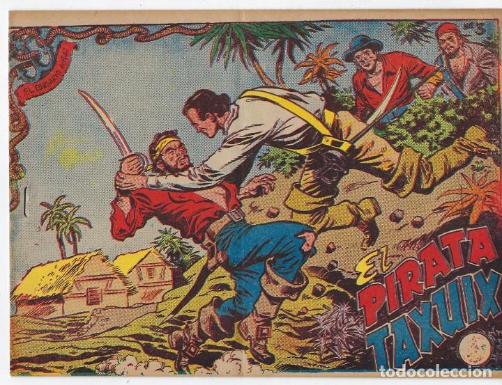 Tebeos: LOTE - EL CORSARIO AUDAZ ¡12 NÚMEROS! 1955 -1956 *** EDITORIAL RICART *** LEER DESCRIPCIÓN - Foto 3 - 222012832