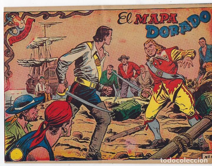 Tebeos: LOTE - EL CORSARIO AUDAZ ¡12 NÚMEROS! 1955 -1956 *** EDITORIAL RICART *** LEER DESCRIPCIÓN - Foto 5 - 222012832