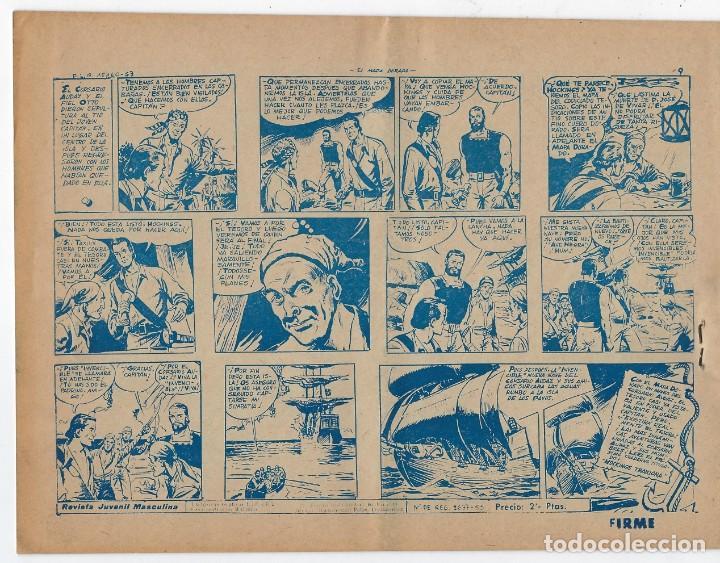 Tebeos: LOTE - EL CORSARIO AUDAZ ¡12 NÚMEROS! 1955 -1956 *** EDITORIAL RICART *** LEER DESCRIPCIÓN - Foto 6 - 222012832