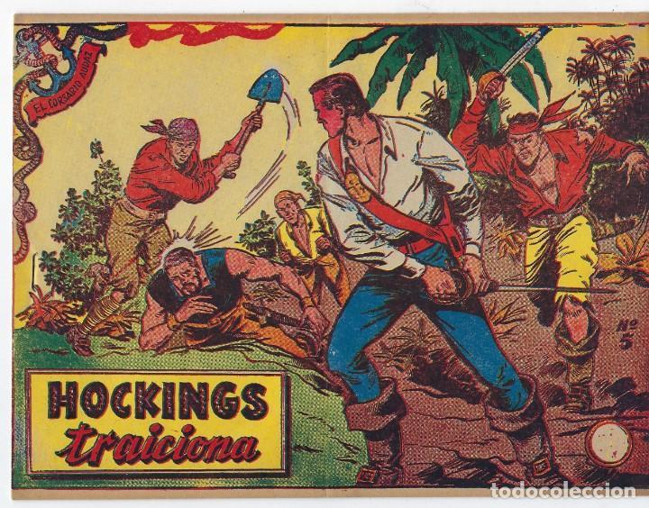 Tebeos: LOTE - EL CORSARIO AUDAZ ¡12 NÚMEROS! 1955 -1956 *** EDITORIAL RICART *** LEER DESCRIPCIÓN - Foto 7 - 222012832
