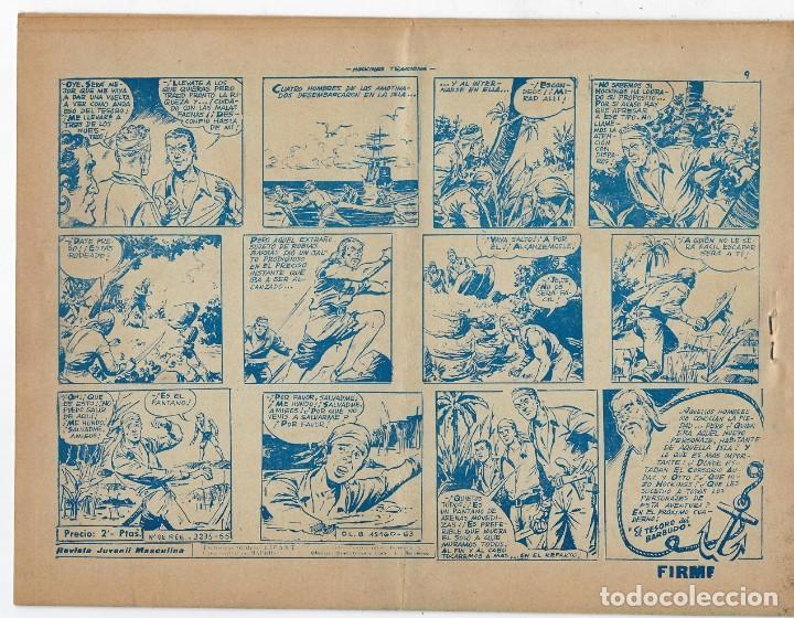 Tebeos: LOTE - EL CORSARIO AUDAZ ¡12 NÚMEROS! 1955 -1956 *** EDITORIAL RICART *** LEER DESCRIPCIÓN - Foto 8 - 222012832