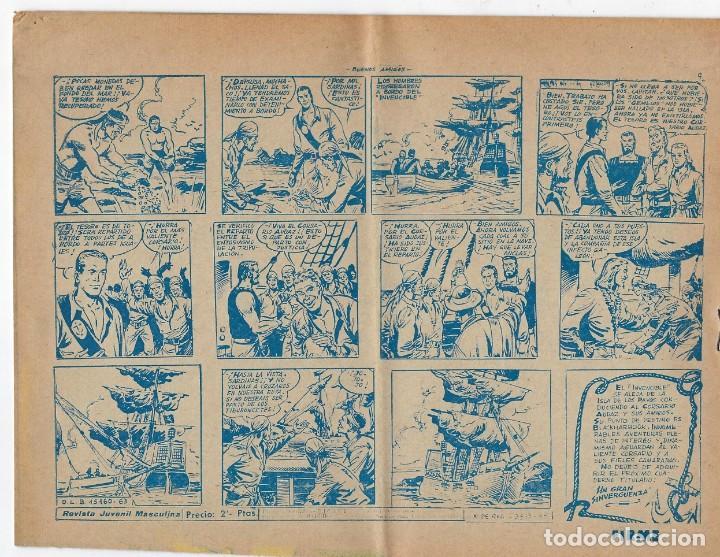 Tebeos: LOTE - EL CORSARIO AUDAZ ¡12 NÚMEROS! 1955 -1956 *** EDITORIAL RICART *** LEER DESCRIPCIÓN - Foto 12 - 222012832