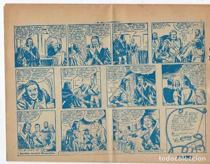 Tebeos: LOTE - EL CORSARIO AUDAZ ¡12 NÚMEROS! 1955 -1956 *** EDITORIAL RICART *** LEER DESCRIPCIÓN - Foto 14 - 222012832