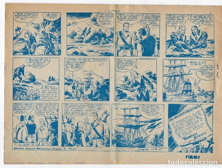 Tebeos: LOTE - EL CORSARIO AUDAZ ¡12 NÚMEROS! 1955 -1956 *** EDITORIAL RICART *** LEER DESCRIPCIÓN - Foto 16 - 222012832