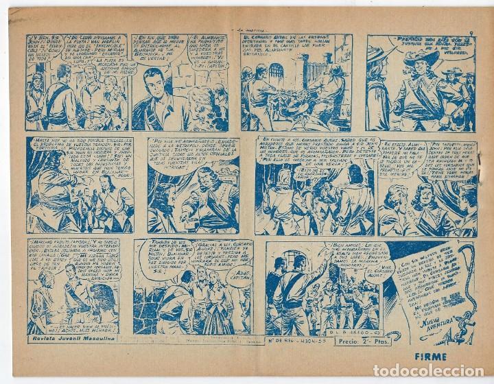 Tebeos: LOTE - EL CORSARIO AUDAZ ¡12 NÚMEROS! 1955 -1956 *** EDITORIAL RICART *** LEER DESCRIPCIÓN - Foto 20 - 222012832