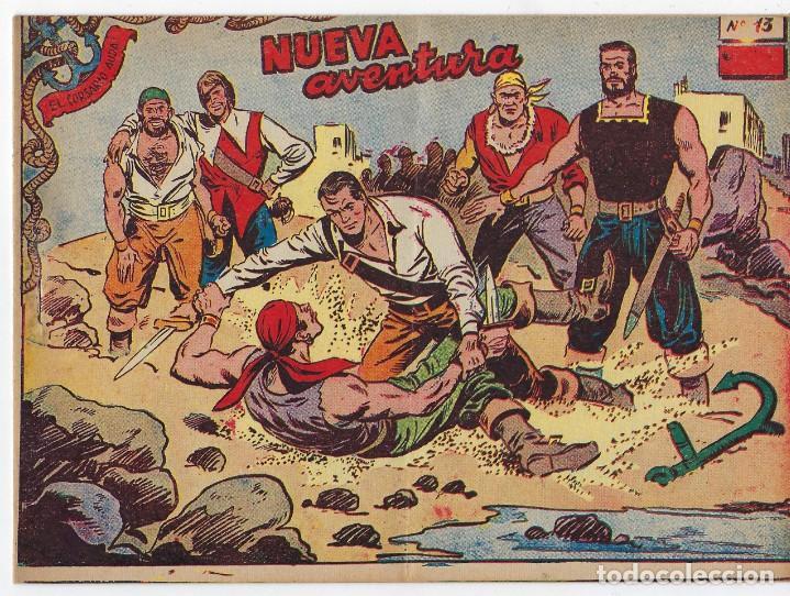 Tebeos: LOTE - EL CORSARIO AUDAZ ¡12 NÚMEROS! 1955 -1956 *** EDITORIAL RICART *** LEER DESCRIPCIÓN - Foto 21 - 222012832