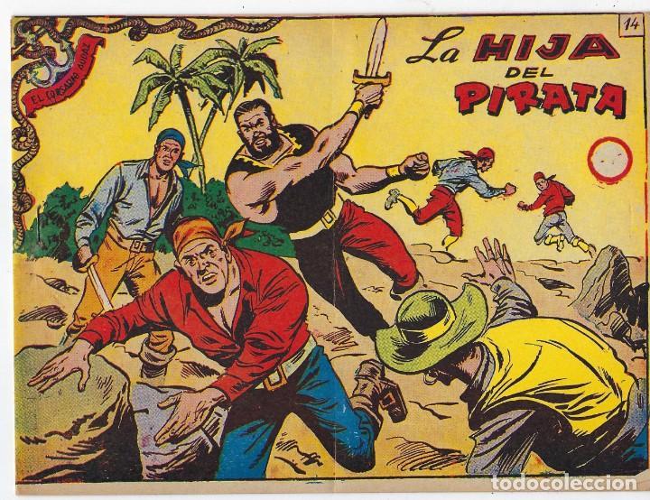 Tebeos: LOTE - EL CORSARIO AUDAZ ¡12 NÚMEROS! 1955 -1956 *** EDITORIAL RICART *** LEER DESCRIPCIÓN - Foto 23 - 222012832