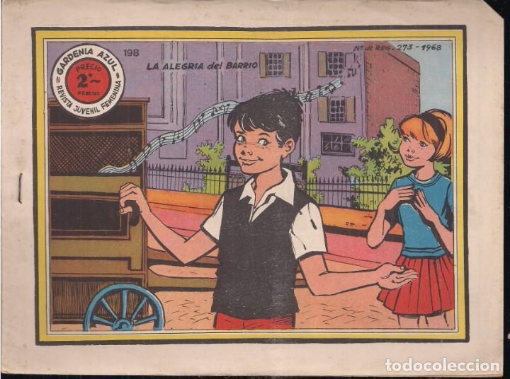 GARDENIA AZUL Nº 198: LA ALEGRIA DEL BARRIO (Tebeos y Comics - Ricart - Otros)