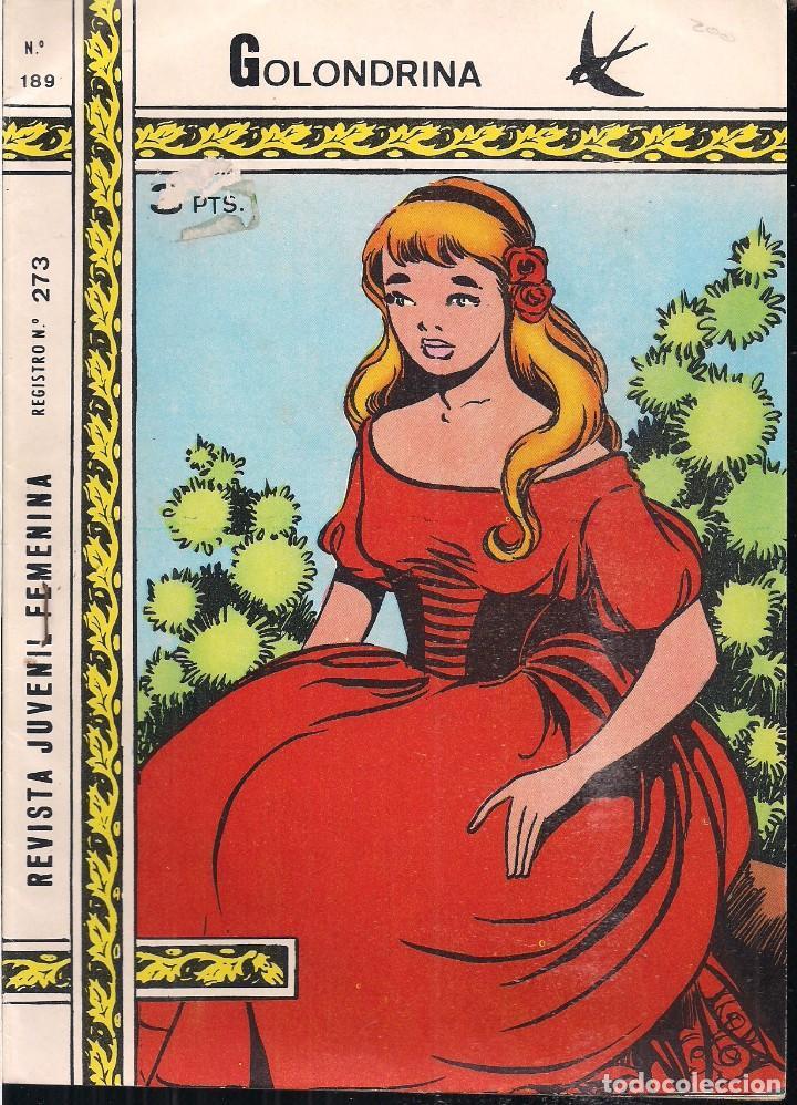 GOLONDRINA Nº 189: LAS TRES LEÑADORAS (Tebeos y Comics - Ricart - Golondrina)