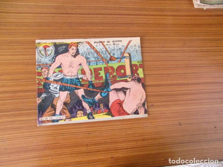 AVENTURAS DEPORTIVAS Nº PUÑOS DE ACERO 4 PTS EDITA RICART (Tebeos y Comics - Ricart - Aventuras Deportivas)