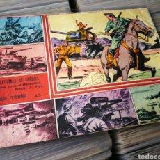 Giornalini: SELECCIONES DE GUERRA- CULPA REPRIMIDA, N°45. EDITORIAL RICART. (FOTO EQUIPO AT. BILBAO).. Lote 223681073