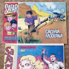 Tebeos: SAFARI Nº 8 (RICART 1965) Y Nº 68 (IBEROMUNDIAL 1967). Lote 225031545