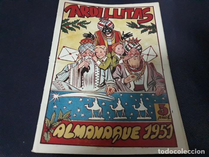 ARDILLITAS ALMANAQUE 1951 RICART ( MUY DIFÍCIL ) (Tebeos y Comics - Ricart - Otros)
