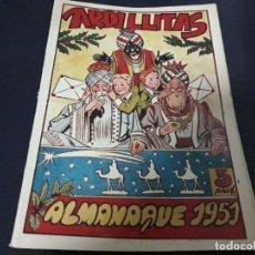 Tebeos: ARDILLITAS ALMANAQUE 1951 RICART ( MUY DIFÍCIL ). Lote 225332561