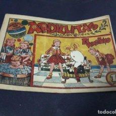 Tebeos: ARDILLITAS Nº 5 RICART 1950. Lote 225342130