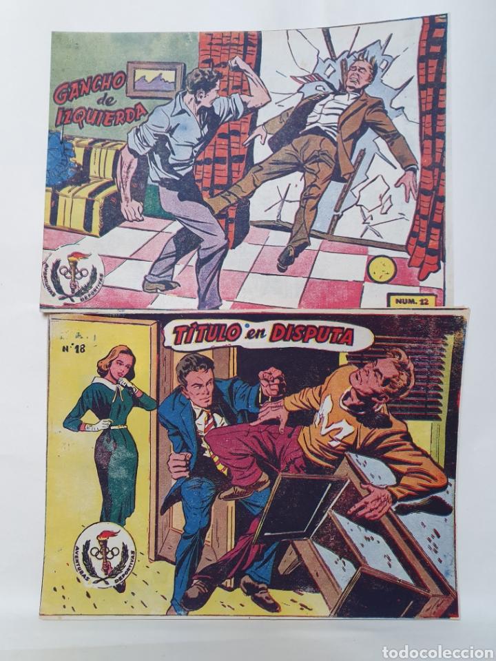 AVENTURAS DEPORTIVAS. EXCLUSIVAS GRAFICAS RICART. AÑOS 60. ORIGINAL DE EPOCA. (Tebeos y Comics - Ricart - Aventuras Deportivas)