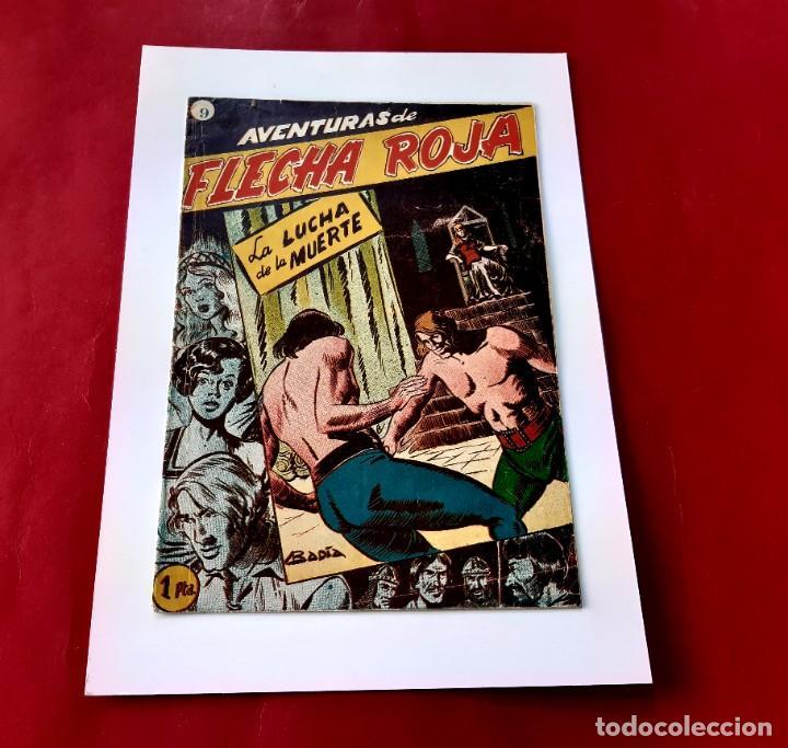 AVENTURAS DE FLECHA ROJA Nº9 -ORIGINAL ED. RICART -MUY BUEN ESTADO- (Tebeos y Comics - Ricart - Otros)