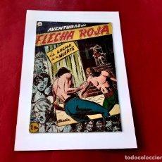Tebeos: AVENTURAS DE FLECHA ROJA Nº9 -ORIGINAL ED. RICART -MUY BUEN ESTADO-. Lote 225771440