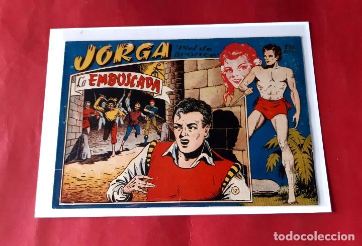 "JORGA "" PIEL DE BRONCE "" Nº 17 -RICART-ORIGINAL-EXCELENTE ESTADO (Tebeos y Comics - Ricart - Jorga)"