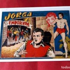 "Tebeos: JORGA "" PIEL DE BRONCE "" Nº 17 -RICART-ORIGINAL-EXCELENTE ESTADO. Lote 226498305"