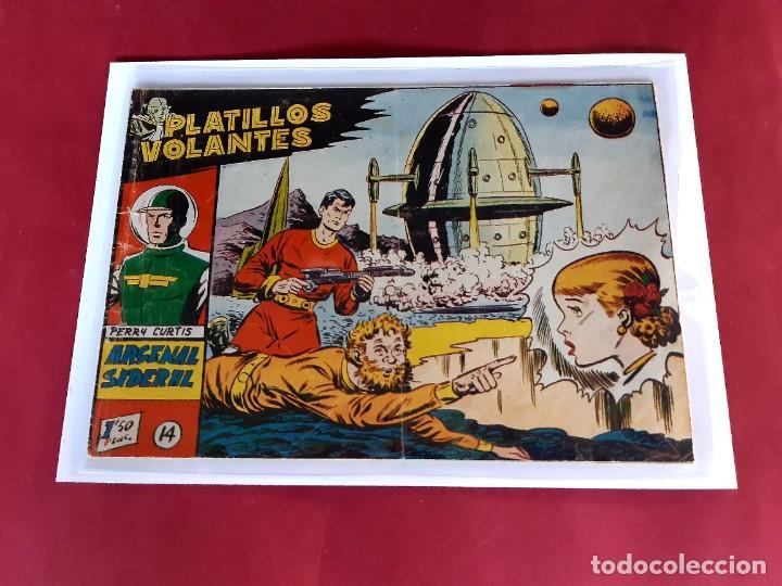 PLATILLOS VOLANTES Nº 14 GRAFICAS RICART -EN BUEN ESTADO (Tebeos y Comics - Ricart - Otros)