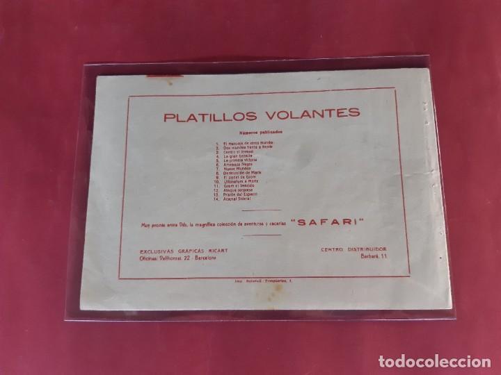 Tebeos: PLATILLOS VOLANTES Nº 14 GRAFICAS RICART -EN BUEN ESTADO - Foto 2 - 226617700