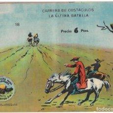 Tebeos: WINCHESTER JIM Nº 18,ULTIMO ALBUM DE 4 PTS ORIGINAL MUY BUEN ESTADO-IMPORTANTE LEER ENVIO VER FOTOS. Lote 227229725