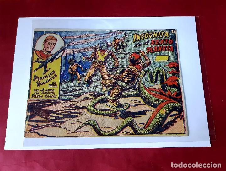 PLATILLOS VOLANTES 2ª SERIE Nº 1 - EDITORIAL RICART -1956-EXCELENTE ESTADO (Tebeos y Comics - Ricart - Otros)