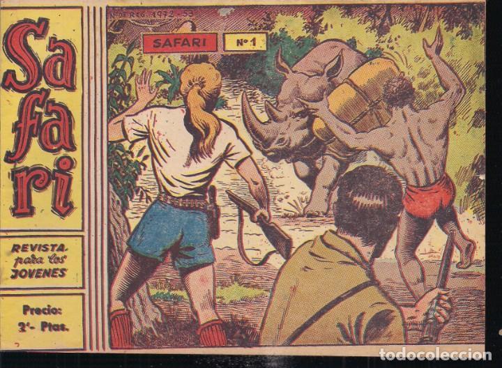 SAFARI 2 PESETAS Nº 1: SAFARI (Tebeos y Comics - Ricart - Safari)