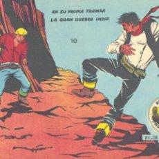 Tebeos: WINCHESTER JIM 10 (DOBLE). RICART, 1963 (CONTIENE LOS NÚMEROS 19 Y 20 PRIMERA EDICIÓN). Lote 231001425